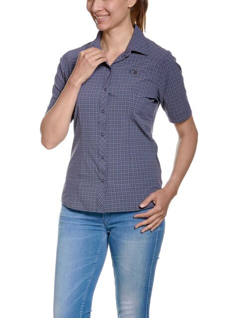 Tatonka Jonne SS-Shirt Women matt blue